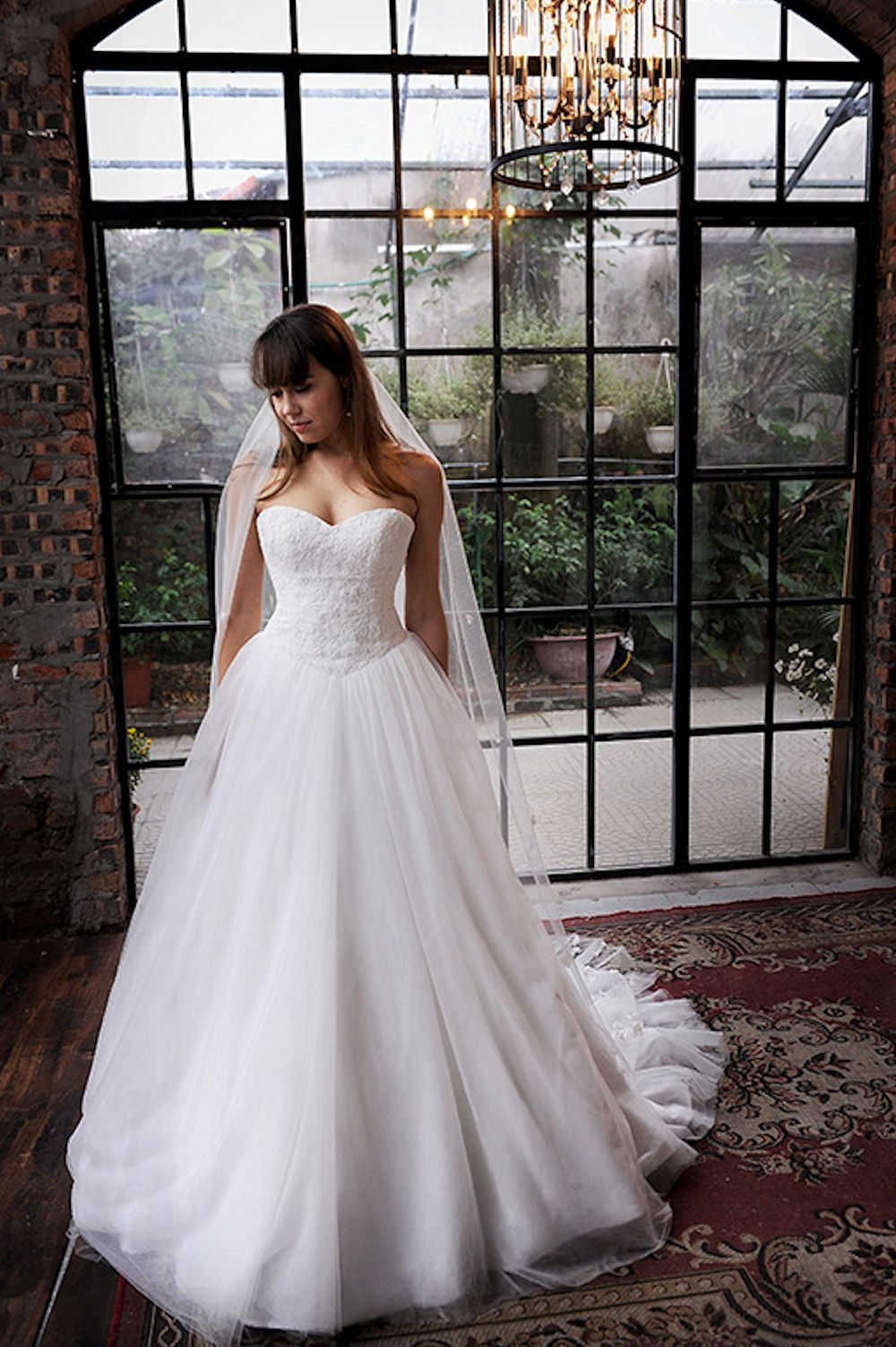 Kim Alpha Bridal - Bridal & Formal Dresses Melbourne - Erica Lace, Tulle & Silk Wedding Dress