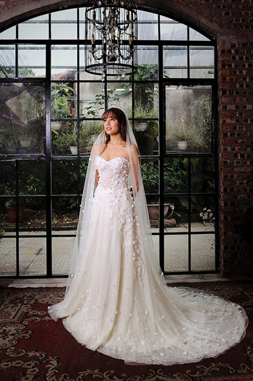 Kim Alpha Bridal - Bridal & Formal Dresses Melbourne - Zahana Corset White Wedding Dress