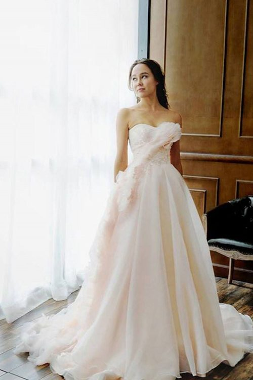 Kim Alpha Bridal - Wedding Dress Melbourne - Gala Blush Pink Wedding Dress
