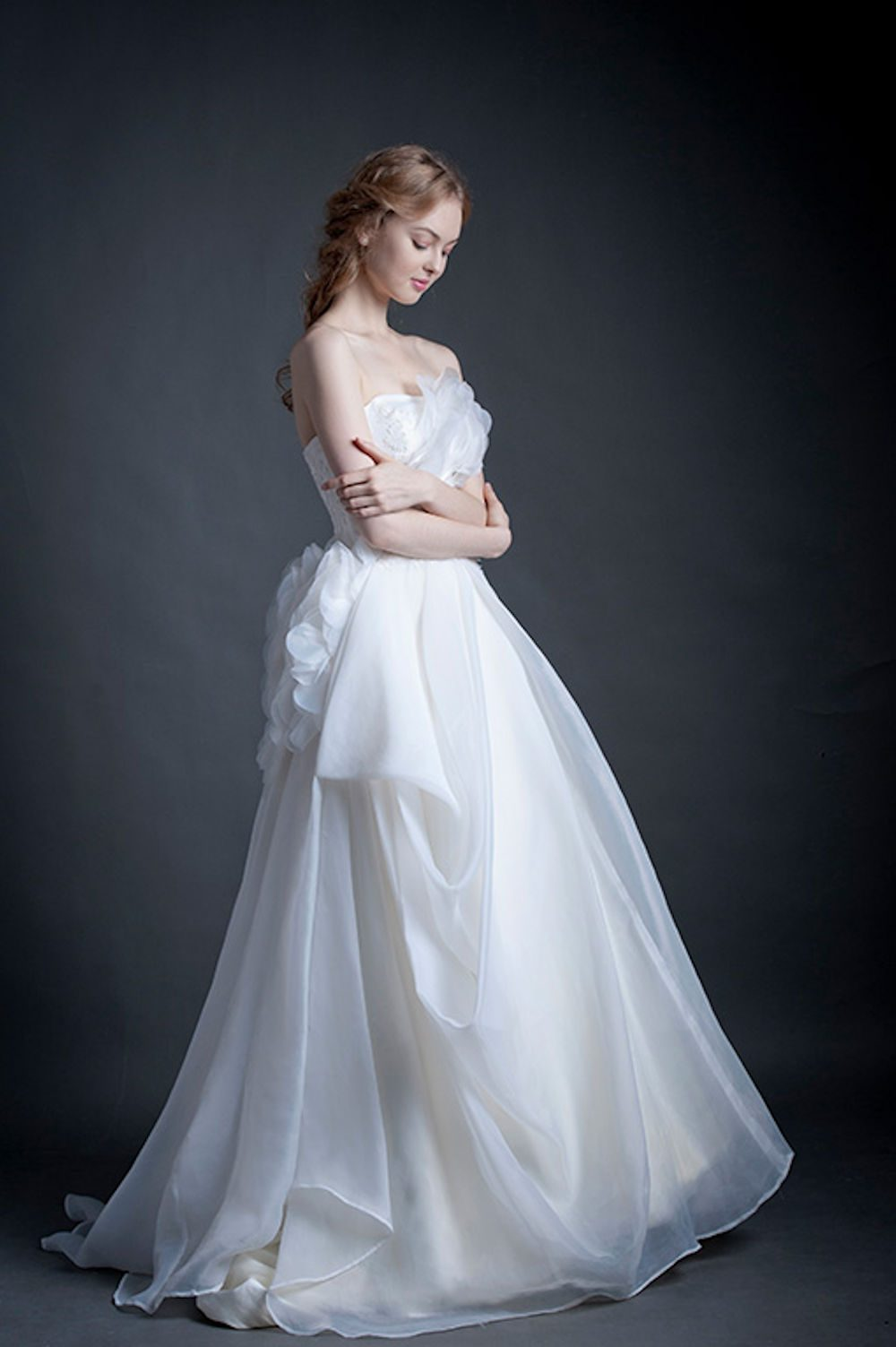 Kim Alpha Bridal - Wedding Dress Melbourne - Hartley Corset Back Wedding Dress