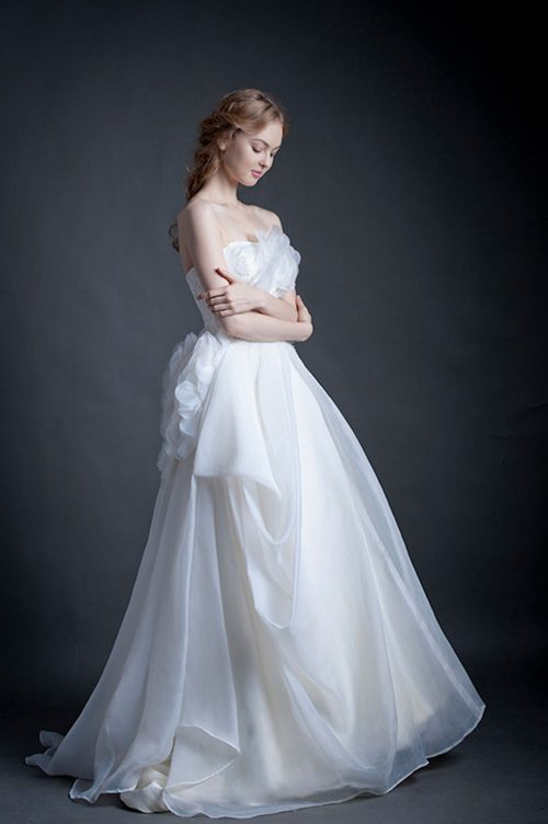 Kim Alpha Bridal - Wedding Dress Melbourne - Hartley Corset Back Wedding Dress