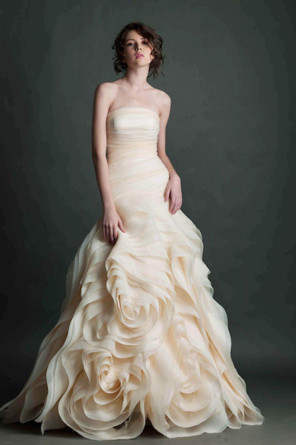 Kim Alpha Bridal - Wedding Dress Melbourne - Marcata Strapless Wedding Dress