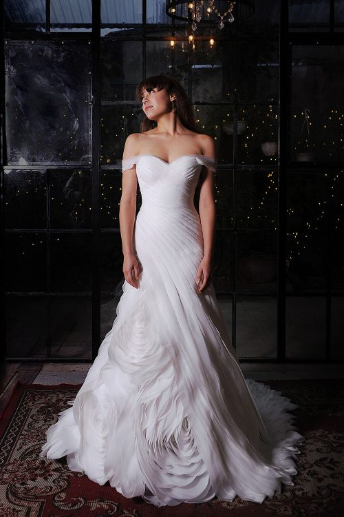 Kim Alpha Bridal - Akito Trumpet- wedding dress Melbourne